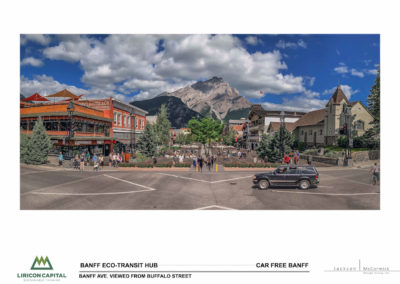 view of Banff Ave from Buffalo St future